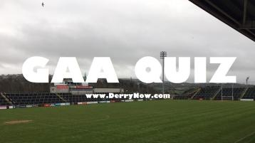 QUIZ: Test your knowledge of various aspects of Derry GAA