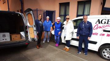 Despite a huge increase in demand, volunteers at Age Concern in Derry working hard to make sure its 'meals on wheels' service continues