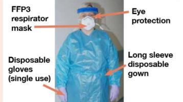 CORONAVIRUS LATEST: Minister visits PPE distribution centre as NHS deliveries begin