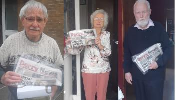 Derry News teams up with Age Concern to reconnect old friends who have not seen each other in months