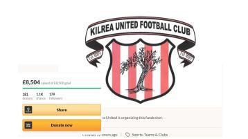Kilrea United's future saved