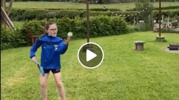 WATCH: Derry's newest hurling club showcases their skills