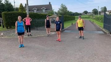 Back to action for Magheraffelt based running club Tafelta