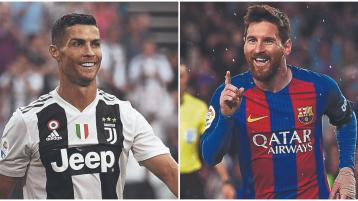 A whole weekend of Messi vs Ronaldo on TV this weekend - who's the GOAT?