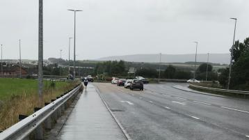 Motorists in Derry warned to expect delays this weekend due to the closure of a busy roundabout in the city
