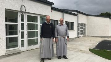 Monks amazed by the £20,000 they have received from the people of Derry for a new centre in the city