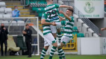 Full-time: Shamrock Rovers v. Finn Harps at Tallaght Stadium