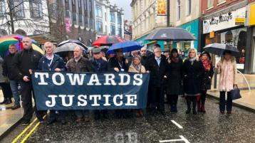 Bloody Sunday: 'We'll continue until there's not a breath left in our bodies'