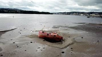 Owner of boat stuck in the River Foyle appeals for help to refloat the vessel again