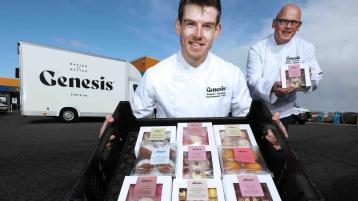 Magherafelt firm teams up with TV bake-off champion