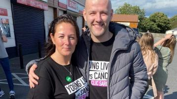 Young Derry man receives amazing support during his battle with cancer at the height of the pandemic