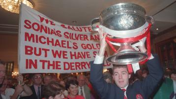 Why I think it is impossible for Derry to win another All-Ireland until more players from the city come through