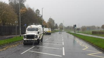 Busy Derry road sealed off in fresh security alert