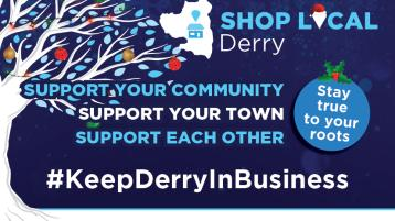 Five@5: Derry businesses continuing to operate during lockdown