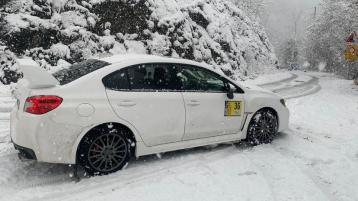 It's 'snow' joke for Josh McErlean in Monza