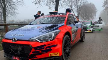 Josh McErlean in seventh place going into Saturday's stages in Monza