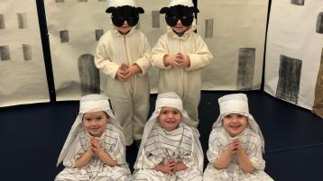 GALLERY: Virtual Nativity at St Columba's PS