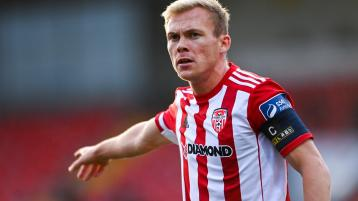 We want Conor to stay, insist Derry City