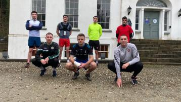 Claudy footballer going the extra mile for charity
