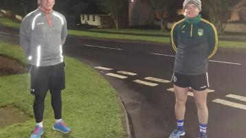 Glen footballer embarks on charity running challenge in memory of his granny