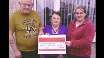 Eglinton family raise over £1,500 for Air Ambulance