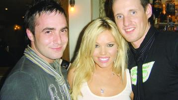 Playboy playmate Colleen Shannon visits Earth Nightclub in Derry