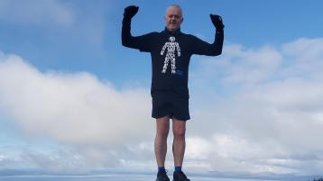 ATHLETICS: Over 300 miles last month for Roy