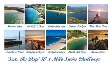 Seas the Day 10 Mile Swim Challenge