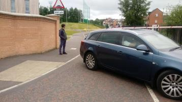 Bomb squad at scene of Derry security alert
