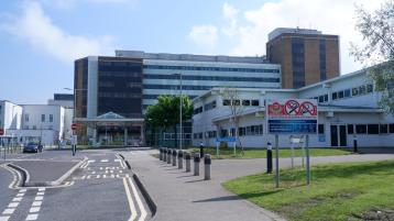 Altnagelvin Hospital services curtailed due to spike in Covid cases