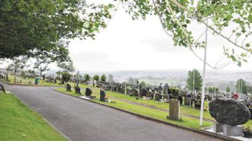 Two cemeteries in Derry closed this morning because of icy conditions