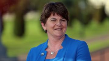Arlene Foster officially steps down as First Minister
