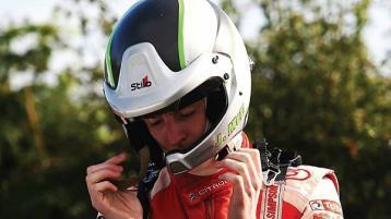 Josh McErlean 's biggest step yet in Sunday's Rally di Alba
