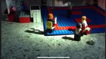 WATCH: Lego karate comes to Claudy