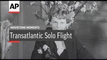 WATCH: Amelia Earhart on her solo flight across Atlantic after landing in Derry (1932)