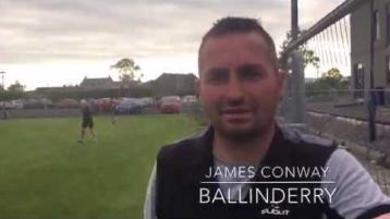 WATCH: Ballinderry Shamrocks get back training after the sporting lockdown