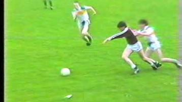 WATCH: Glen and Ballinascreen clash in 1987 Derry minor final
