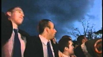 WATCH: Ballinderry make it back home after winning the All-Ireland in 2002