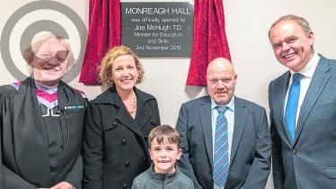 Derry congregation join Monreagh Church Hall opening celebrations