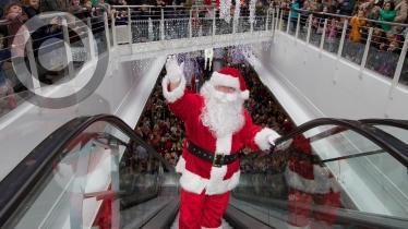 Santa's Arrival at Foyleside Shopping Centre
