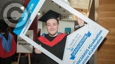 North West Regional College's Higher Education Graduation ceremony