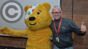 Children in Need special assembly at Ardnashee School and College