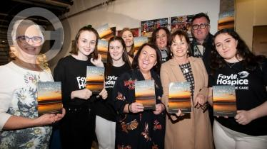 Launch of Derry Women of Hope's 'Be Still' book in the Millennium Forum