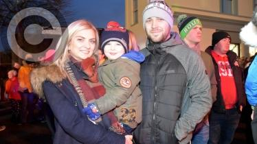 Gallery: Christmas lights switch-on in Dungiven