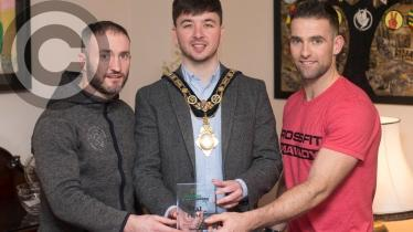 GALLERY: Civic reception for Limavady CrossFit's Michael