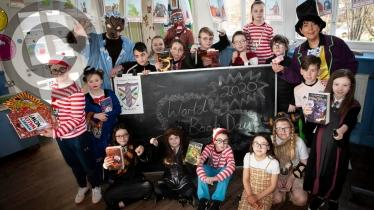 GALLERY:  World Book Day at St Eugene's Primary School