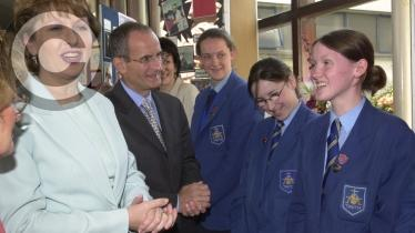 GALLERY: Mary McAleese visit's St Mary's College in 2001