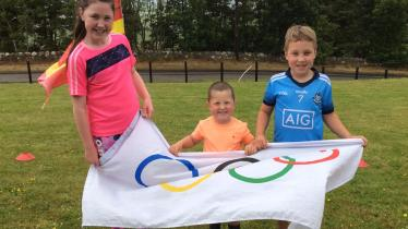 Faughanvale Primary School not deterred by the sporting lockdown