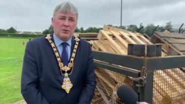 WATCH: Local mayor makes safety appeal ahead of Eleventh night