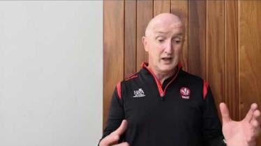 WATCH: Derry hurling manager reacts to Roscommon win